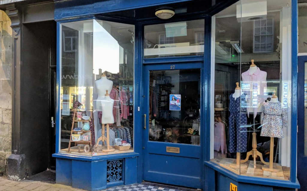 40ba3e2fdba Designer Clothes Instead Of Cats At Shaftesbury's Newest Charity ...